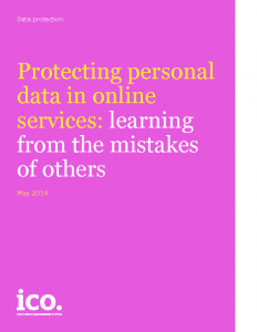 Protecting personal data in online services learning from the mistakes of others